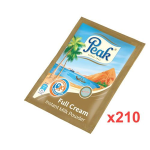 Peak Powdered Milk Sachet 16g X 210
